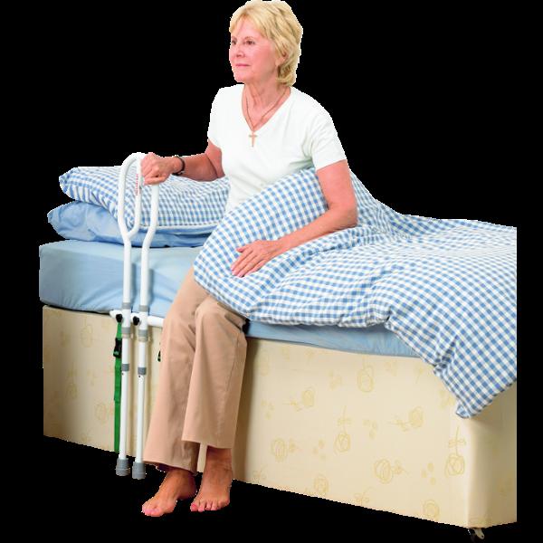 Barre de lit d 39 aide au lever aide au coucher neut - Mal de tete au lever du lit ...