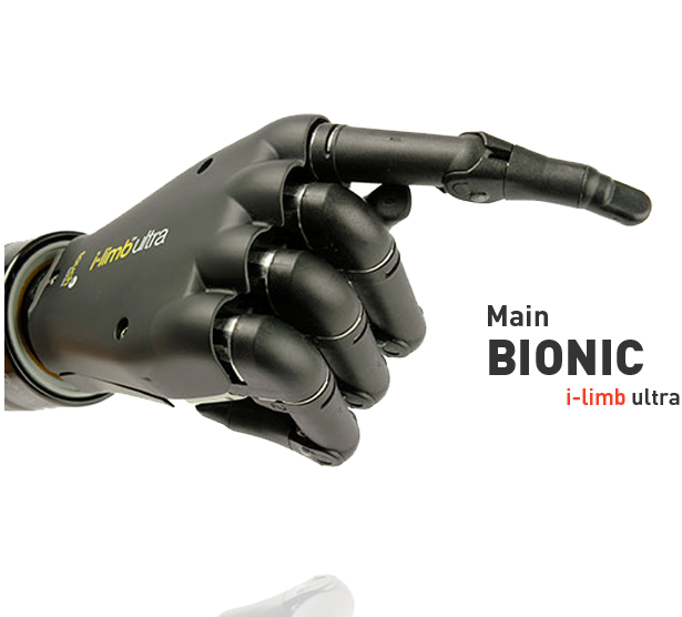 main bionic I-Limb ultra